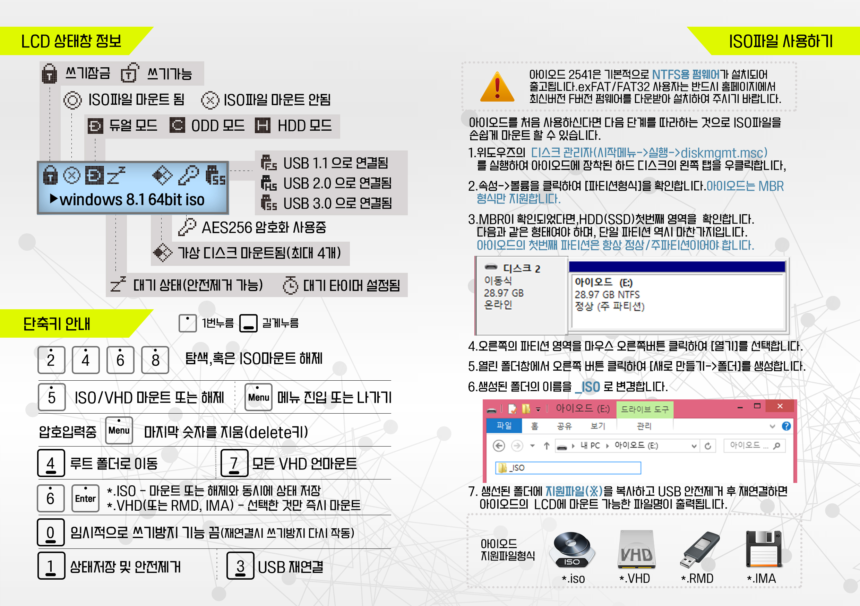 iODD-2541 Quick Start Guide (KO)